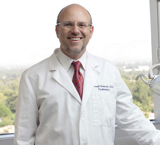 Dr Ronald Koslowski a Prosthodontist and Dental Oncologist
