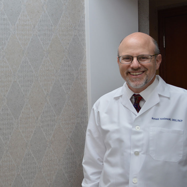 Dr. Ronald Koslowski smiling for picture